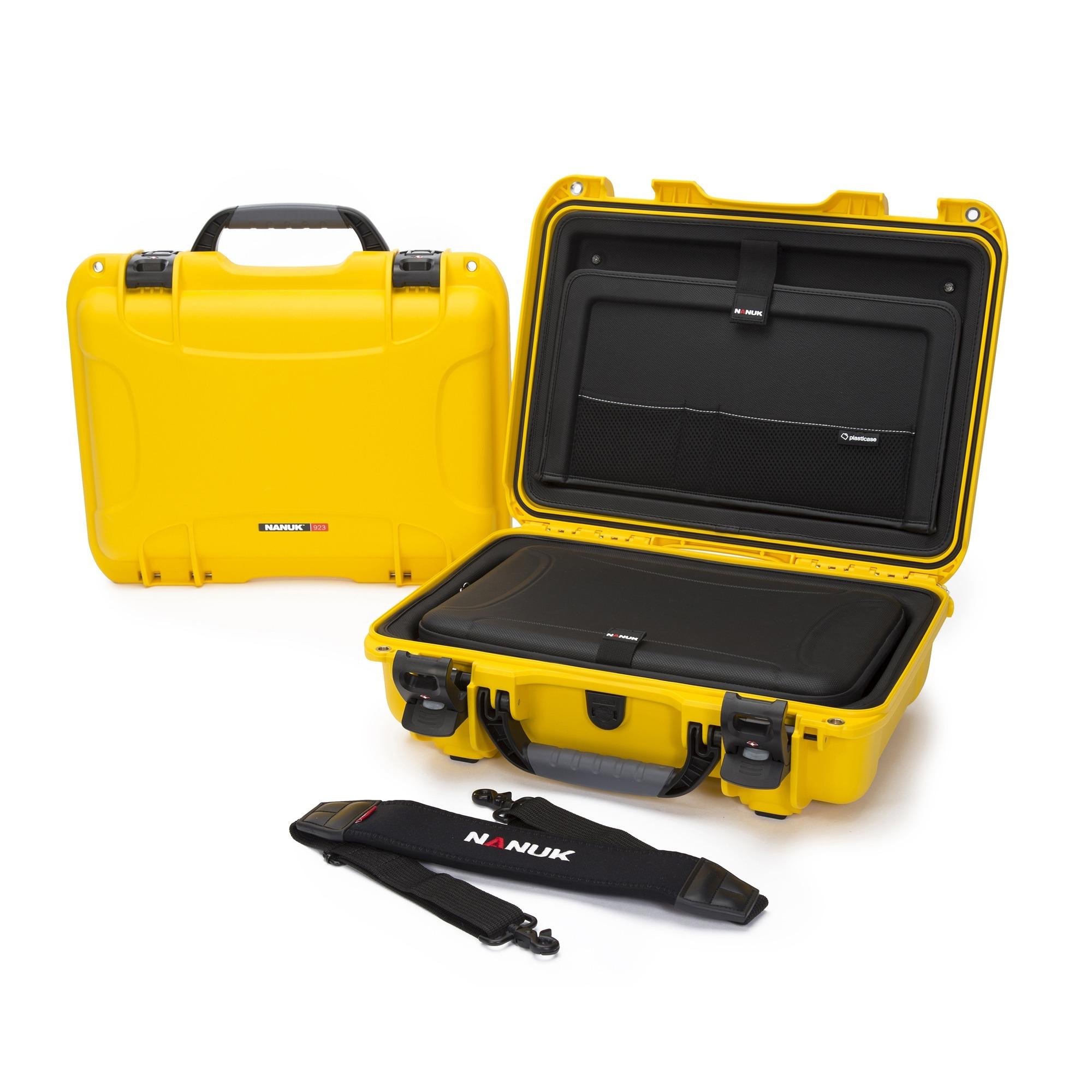 Nanuk 923 Laptop – Yellow