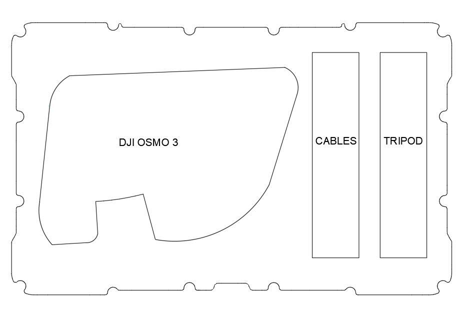 Nanuk 909 DJI OSMO 3